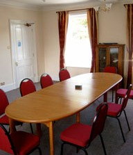One of our business training rooms